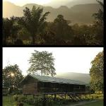 Morning view of Bernarat Lodge