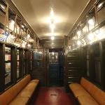 Old Subway train