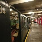 Old Subway cars
