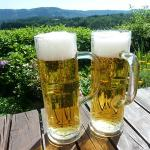 Prost with Radeberger Beer