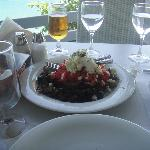 greek salat......cyclades restaurant.....