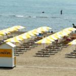  Spiaggia fronte hotel