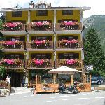  esterno dell&#39;hotel