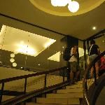  staircase towards the lobby on the 2nd floor
