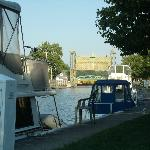  Scenery was great, watching the boats go thru locks