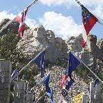 Mount Rushmore a mere 2 miles away!