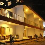 Turtle Beach Hotel, Ujung Genteng at night