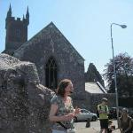  Walking tour in front of friary