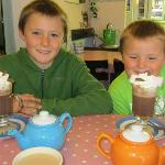 Hot Chocolate at Daisy's Cafe Looe