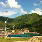 Pool at base of the mountain