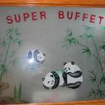 As you enter Super Buffet...