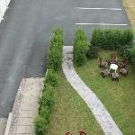 Jardin & Vaste parking