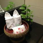 Complimentary toiletries replenished daily