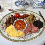 The fabulous cooked breakfast
