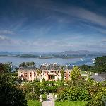 View from the hundred steps overlooking Bantry Bay