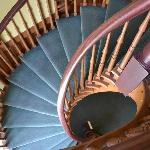 Staircase built by Mitt Romney's great grandfather