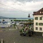 View of Lake of Geneva from the room