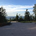 Driveway to view of Lake Superior