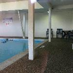 la piscine intrieur de taille respectable