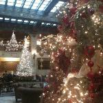 Christmas at the Davenport Hotel
