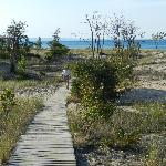  Boardwalk to the beach - easy walk
