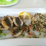  sardines cooked with cous cous