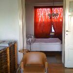  Aperu de la chambre et du living-room