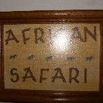 African Safari room