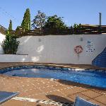  La piscina dell&#39;hotel