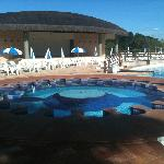  Piscina com hidromassagem