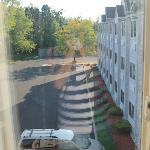  View from our window, room 313