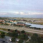 Marriot airport view