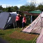 Our two tents with Gazebo between