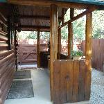 Front porch - cabin 6