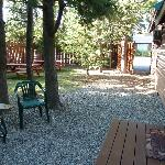 yard area cabin 6