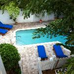Pool From Rear Balcony