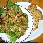  Chickpea Salad at York Street Diner (on hotel site)