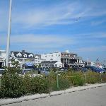  View of the Motel from the Boardwalk