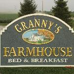  Sign in front of the Farmhouse