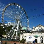 Torquay eye from Olympic stadium.