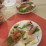 seafood served at Tosa