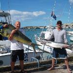 Mahimahi & Wahoo caught on Akura - Aug 2012