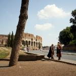 The Colosseum, or the Coliseum, originally the Flavian Amphitheatre