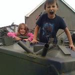  Kids enjoying the Tank.