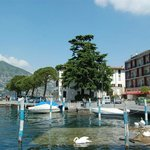 Hotel sul porto e lago d'Iseo (the hotel is on iseo harbour)