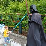 Star wars area in the park