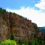  Glenwood Canyons - view from Hanging Lake area
