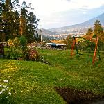  the view over otavalo
