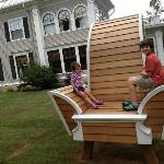 Gateways recently hosted an artist installation of a Giant Chair - Love it!