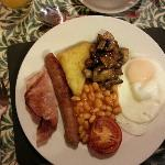 Lovely cooked breakfast